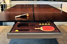 Ping Pong Conference Room Table... nope kitchen table...sweet!