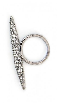 by CC Skye  Pave Spear Ring