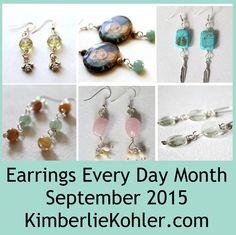Tier Earrings Pattern by KimberlieKohler on Etsy Shops, Beaded Jewelry, Unique Jewelry, Earring Tutorial, How To Make Earrings, Jewelry Patterns, Jewelry Crafts, Drop Earrings, Trending Outfits
