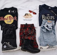 1 2 or 1 2 or Edgy Outfits vscogirloutfits Retro Outfits, Hipster Outfits, Teen Fashion Outfits, Cute Casual Outfits, Edgy Outfits, Grunge Outfits, 90s Fashion, Outfits For Teens, Korean Fashion