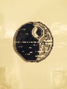 Star Wars - Death Star perler beads by BayCollections1