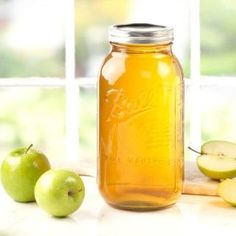 Ball Wide Mouth 1/2-Gallon Jars are ideal for fresh preserving apple and grape juices, as well as crafting.