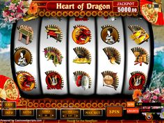 Buy Video Slot game for Online Casino - Heart of the dragon Video Slot Game