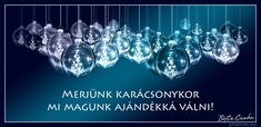 Böjte Csaba #idézet #karácsony Winter Decorations, Ceiling Lights, Christmas, Bible, Quote, Xmas, Biblia, Quotation, Navidad