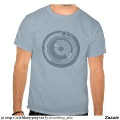 Pi crop circle t-shirt design. The wonders of science.
