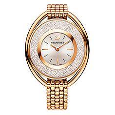 Price: (as of – Details) Swarovski Crystalline Oval Gold Tone Bracelet Watch 5200339 Swarovski Women's Crystalline Quartz Gold Tone Stainless Steel Watch Authentic, New with… Mesh Bracelet, Bracelet Cuir, Metal Bracelets, Bracelet Watch, Charm Bracelets, Swarovski Watches, Swarovski Jewelry, Gold Jewellery, Silver Jewelry