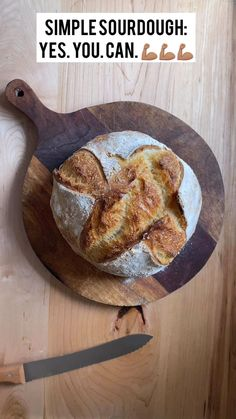 Simple Sourdough Bread: Yes. - For years I shied away from sourdough bread baking, fearing the time, the process, the starter, the - Easy Sourdough Bread Recipe, Bread Recipe Video, Sourdough Bread Starter, Sour Bread Recipe, Artisan Bread Recipes, Baking Recipes, Whole Wheat Sourdough, Vegan Bread, Comfort Food