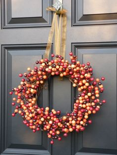 LOVE berry wreaths! where can I get this one for fall?