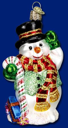 OLD WORLD CHRISTMAS NURSE/'S CAP GLASS CHRISTMAS ORNAMENT 36146