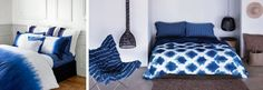 Au Lit Fine Linens | Beautiful Beds: Tie-dye