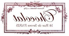 Transfer Printable - Chocolat Paris - The Graphics Fairy  http://thegraphicsfairy.com/category/french-typography/page/4/