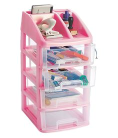 Utility Drawer 4 Tier - Office Stationery, Cosmetics, Bathroom