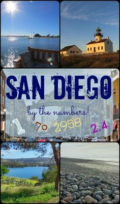Do the math yourself, and you'll discover just how wonderful San Diego really is!