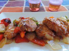 Pollo agridulce estilo chino. Blog Cocinando con Las Chachas.