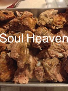 Seasoned Pork Neck Bones Are Baked Until Tender And Roasted To A Golden Brown In This Homey
