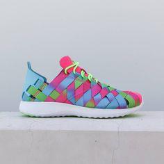 15b513d0f8dc Nike Women Juvenate Woven Premium Women S Shoe (gamma blue   electric green    white   pink blast)