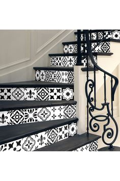 This Damiano Stair Two-Piece Decal Set is perfect! Pintura Exterior, Stone Houses, Stairways, Arches, Household, Sweet Home, New Homes, Castle, Interior Design
