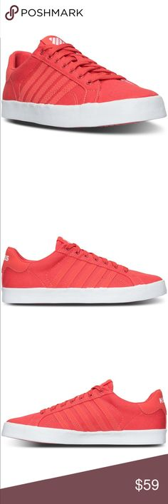 New K-SWISS sneakers❤️ New K-SWISS sneakers in this beautiful spring color. Perfect for spring /summer. Coming soon !! K-Swiss Shoes Sneakers