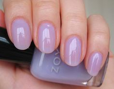 Beautiful Lilac Nails