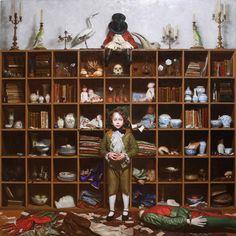 Hiroshi Furuyoshi \ Born in Hiroshima Prefecture 1993 Graduated from Tama Art University graphic design School . Figure Painting, Painting & Drawing, Cabinet Of Curiosities, Art Gallery, Pop Surrealism, Artist At Work, Traditional Art, Japanese Art, Oeuvre D'art