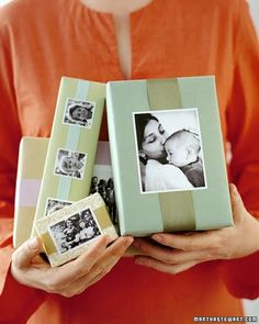 Mother's Day packaging - with pictures of me & mom.  Just make a copy first IF working with ORIGINALS!!!!