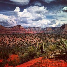 Camping in Sedona, Arizona. I need the desert.