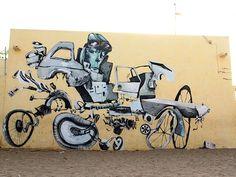Streetart: LAGUNA – Murals & Artworks from Spain, Russia, Senegal, Chiang Mai and Cologne (Portrait – 18 Pictures) > Fashion / Lifestyle, Film-/ Fotokunst, Paintings, Streetstyle, urban art > art, artworks, laguna, paintings, pretty portal, public art, spain, surreal