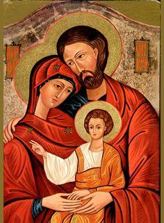 IcSHolyFam2 - Orthodox Holy Family Icon