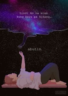 And because I'm also a millennial, one way or another, may similarities kami sa… Tagalog Quotes Patama, Tagalog Quotes Hugot Funny, Memes Tagalog, Tagalog Words, Filipino Quotes, Pinoy Quotes, Filipino Funny, Tagalog Love Quotes, Bisaya Quotes