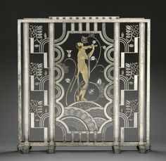 Fire Screen, 1930  made at Rose Iron Works, Inc. (American), designed by Paul Fehér (Hungarian, 1898-1990)