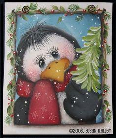 Polly Penguin ePattern #022008