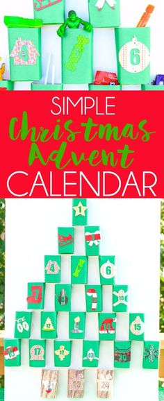 Love DIY crafts? This Christmas advent calendar made with upcycle juice boxes is one of the cutest Christmas ideas I've seen! So simple to DIY and even better, it can even double as Christmas decorations if you're lazy like me! And seriously how cute is that snowflake! #CraftAmazing ad