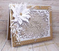 Poinsettia Cards, Christmas Poinsettia, Christmas Art, Eco Deco, Paper Art, Paper Crafts, Xmas Theme, Winter Cards, Xmas Cards