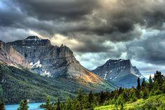 glacier national park hdr - Google Search