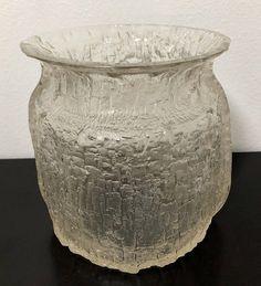 Timo Sarpaneva Finlandia Serie 3354 Vase - Finnish Vintage Design From Iittala, Finland