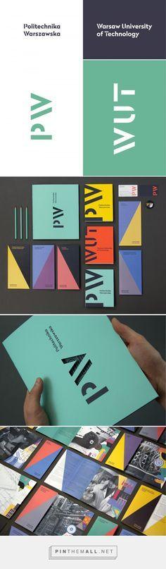 Brand New: New Logo and Identity for Politechnika Warszawska by Podpunkt - created