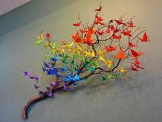 Decorar con origami | Decorar tu casa es facilisimo.com