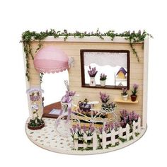 Toys & Hobbies 2019 Fashion Children Pretend Play Toys Dollhouse Accessories Miniature Mini Retro Sewing Machine Furniture Toys For Doll House Decor Exquisite Traditional Embroidery Art Furniture Toys