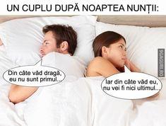 Un cuplu după noaptea nunții...   Link Postare ➡ http://9gaguri.ro/media/un-cuplu-dupa-noaptea-nuntii