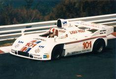 Rolf Stommelen in the 1979 Joest Porsche 908/3 Turbo