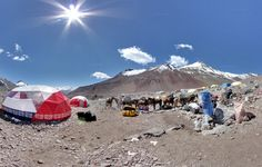 Behold Googles Stunning Street Views from the Top of the World   Streetview from the peak of Everest.