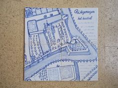 Uitsnede uit een oude prent Social Security, Personalized Items, Cover, Cards, Maps, Blanket