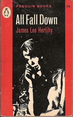 All Fall Down - Penguin book cover. Lovely shadows.