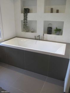Salle De Bain Douche Et Baignoire Plan : Rà novation de salle bains à nice installation et pose dans les