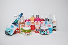 Packaging of the World: Creative Package Design Archive and Gallery: Bubble Beasts (Student Project)