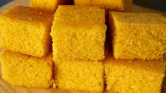 If you like sweet cornbread, this is the recipe for you! Baking Recipes, Healthy Recipes, Baking Ideas, Sweet Cornbread, Cornbread Recipes, Can I Eat, Substitute For Egg, Round Cake Pans, Korean Food