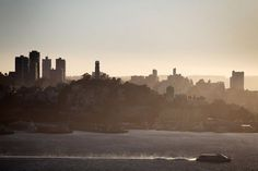 Telegraph Hill and Coit Tower are seen from Yerba Buena Island. Photo: Pete Kiehart, The Chronicle