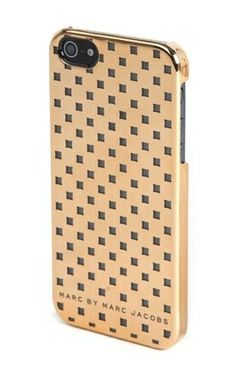 Marc by Marc Jacobs Block iPhone case in Rose Gold