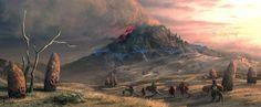 Red Mountain by ~Lelek1980 on deviantART