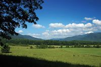 Cades Cove in the Great Smoky Mountains